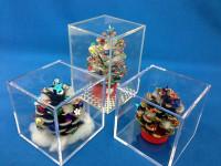 松ぼっくりを使ったクリスマスツリー02
